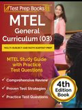 MTEL General Curriculum (03) Multi-Subject and Math Subtest Prep: MTEL Study Guide with Practice Test Questions [4th Edition Book]