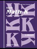 Saxon Math K Homeschool: Student's Meeting Book 1st Edition