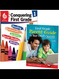 Conquering First Grade Together: 2-Book Set