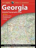 Delorme Atlas & Gazetteer: Georgia