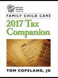 Family Child Care 2017 Tax Companion