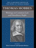 Writings on Common Law and Hereditary Right