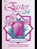 Easter Program Builder No. 24