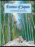 Essence of Japan: A Coloring Journey