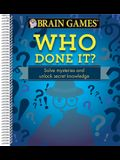 Brain Games Who Done It