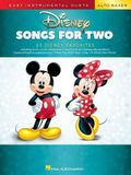 Disney Songs for Two Alto Saxes: Easy Instrumental Duets