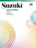Suzuki Cello School, Vol 2: Cello Part, Book & CD