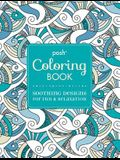 Posh Adult Coloring Book: Soothing Designs for Fun & Relaxation, Volume 7