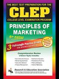 CLEP Principles of Marketing, 5th Ed. (Rea) -The Best Test Prep for the CLEP Exam
