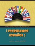 ¡escribamos Español!: Ejercicios de Gramática Para Principiantes