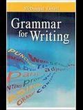 McDougal Littell Literature: Grammar for Writing Grade 6