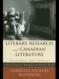 Literary Research & Canadian Lpb