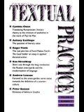 Textual Practice: Volume 4, Issue 3