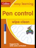 Pen Control Wipe-Clean Activity Book [With Marker]