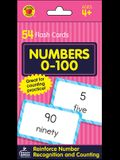 Numbers 0-100 Flash Cards: 54 Flash Cards
