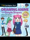 Drawing Anime from Simple Shapes: Character Design Basics for All Ages