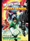 Justice League Classic: Battle of the Power Ring (I Can Read Level 2)
