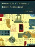 Fundamentals of Contemporary Business Communication