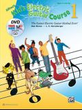 Alfred's Kid's Electric Guitar Course 1: The Easiest Electric Guitar Method Ever!, Book, DVD & Online Video/Audio/Software