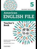 American English File 2e 5 Teacher's Book: With Testing Program [With CDROM]