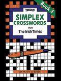 Simplex Crosswords Book 4: from The Irish Times (Crosswords)