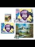 Bob Ross 2-In-1 Double-Sided 500-Piece Puzzle