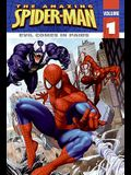 Evil Comes In Pairs (Turtleback School & Library Binding Edition) (The Amazing Spider-Man)