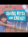 Saving Water and Energy