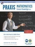 Praxis Mathematics: Content Knowledge (5161) Book + Online (PRAXIS Teacher Certification Test Prep)