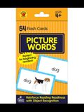 Picture Words Flash Cards: 54 Flash Cards