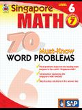 70 Must-Know Word Problems, Grade 7