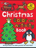 Christmas Preschool Color and Activity Book: Over 60 Christmas Stickers