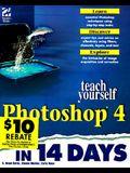 Teach Yourself Photoshop 4 in 14 Days (Sams Teach Yourself)