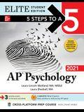 5 Steps to a 5: AP Psychology 2021 Elite Student Edition
