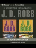 J. D. Robb Collection - Fantasy in Death and Indulgence in Death