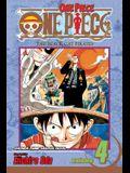 One Piece, Vol. 4, Volume 4: The Black Cat Pirates