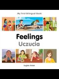 My First Bilingual Book-Feelings (English-Polish)