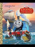 Sodor's Legend of the Lost Treasure (Thomas & Friends) (Little Golden Book)