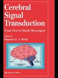 Cerebral Signal Transduction: From First to Fourth Messengers