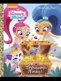 Treasure Twins! (Shimmer and Shine) (Little Golden Book)