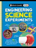 Brain Games Stem - Engineering Science Experiments: More Than 20 Fun Experiments Kids Can Do with Materials from Around the House!