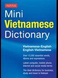Tuttle Mini Vietnamese Dictionary: Vietnamese-English/English-Vietnamese Dictionary