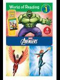 World of Reading Avengers Boxed Set: Level 1 [With E Books]