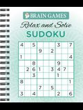 Brain Games - Relax and Solve: Sudoku (Teal)