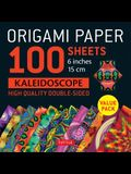 Origami Paper 100 Sheets Kaleidoscope 6 (15 CM): Tuttle Origami Paper: High-Quality Double-Sided Origami Sheets Printed with 12 Different Patterns: I