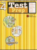 Test Prep: Grade 4 (Flash Kids Harcourt Family Learning)