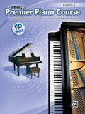 Premier Piano Course Lesson Book, Bk 3: Book & CD [With CD]