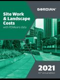 Site Work & Landscape Costs with Rsmeans Data: 60281