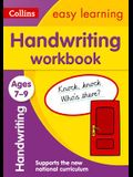 Handwriting Workbook: Ages 7-9
