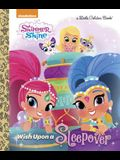 Wish Upon a Sleepover (Shimmer and Shine) (Little Golden Book)